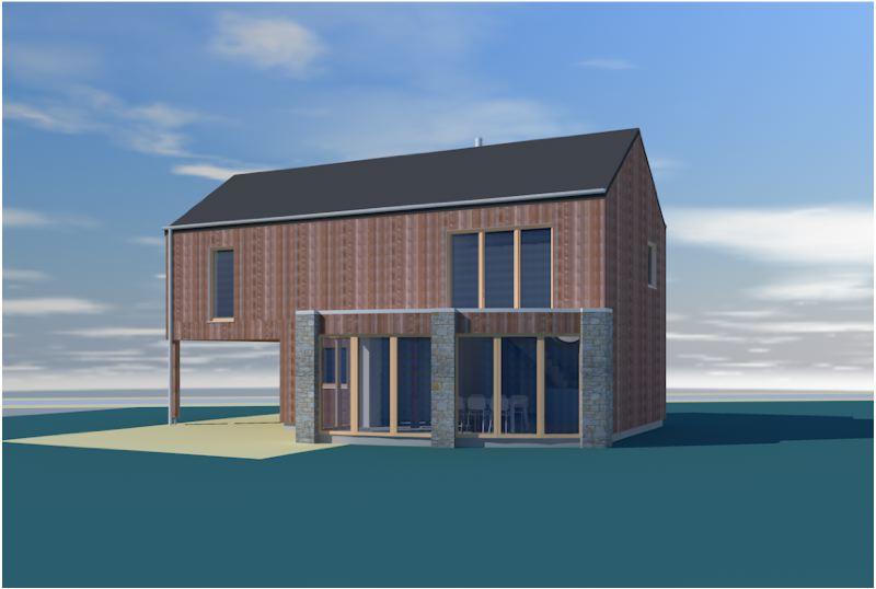 Petite maison bioclimatique 150 m2 habitable - Petite maison en bois habitable ...