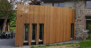 Nos extensions architecture bois for Transformer un garage en chambre prix