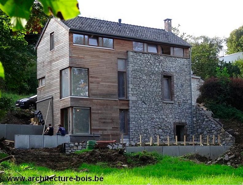 Extension d 39 une petite maison qui double sa surface for Petite extension
