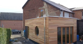 Nos extensions architecture bois for Extension maison 25m2