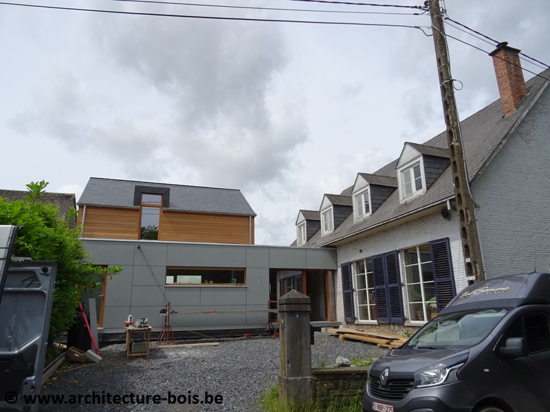 Une Annexe Pour Un Logement D 39 Appoint Bardage C Dre Et Equitone Architecture Bois