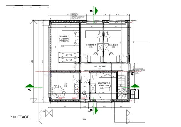 Extension D Une Villa Résidentielle Des Années 50