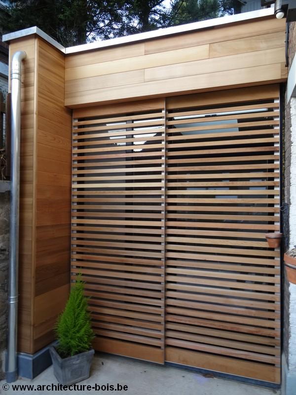 un living qui passe de 23 37m en ajoutant une annexe en bois de 7m architecture bois. Black Bedroom Furniture Sets. Home Design Ideas