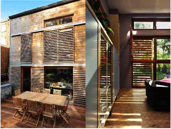 Les syst mes constructifs architecture bois - Claustra brique rouge ...