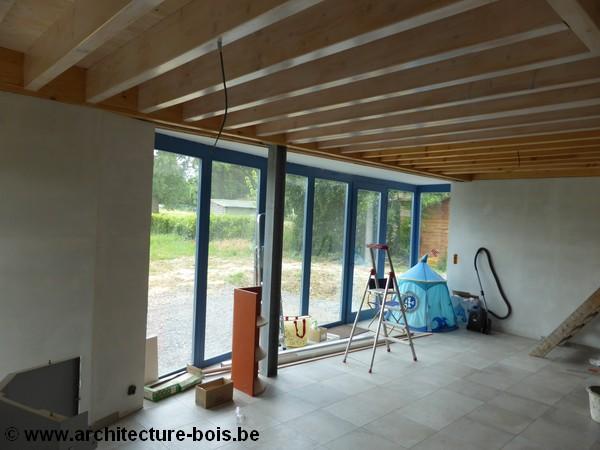 La maison ossature bois pour le confort du bois pictures to pin on pinterest - La maison du confort ...