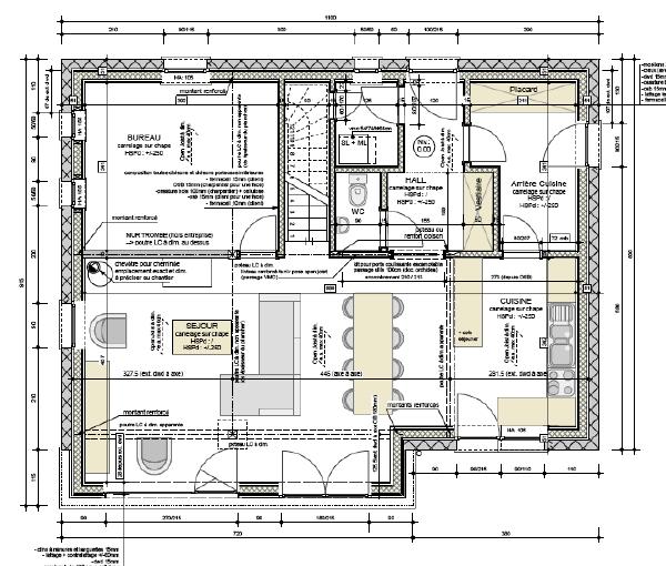 Plan maison familiale maison quartz plan maison gratuit for Creer sa chambre en 3d